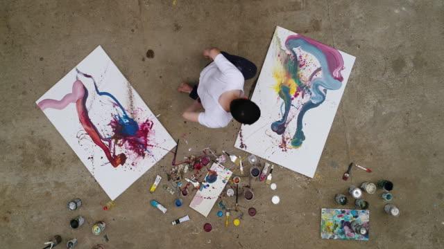 vidéos et rushes de journée pour la peinture - peinture