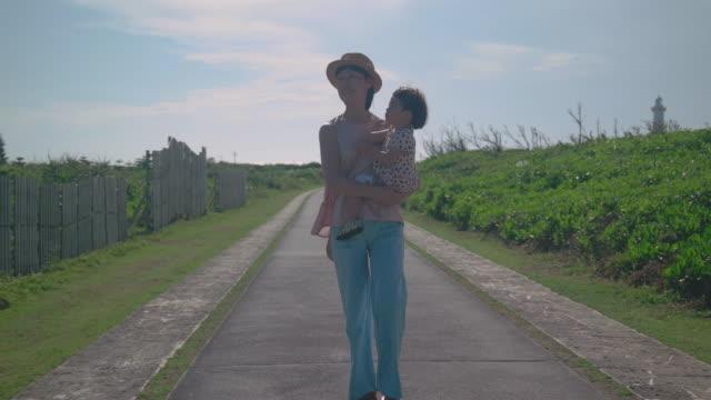 家族の生活の中で日 - 片親点の映像素材/bロール