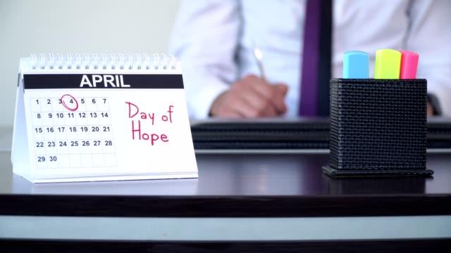dag av hopp - speciella dagar - calendar workout bildbanksvideor och videomaterial från bakom kulisserna