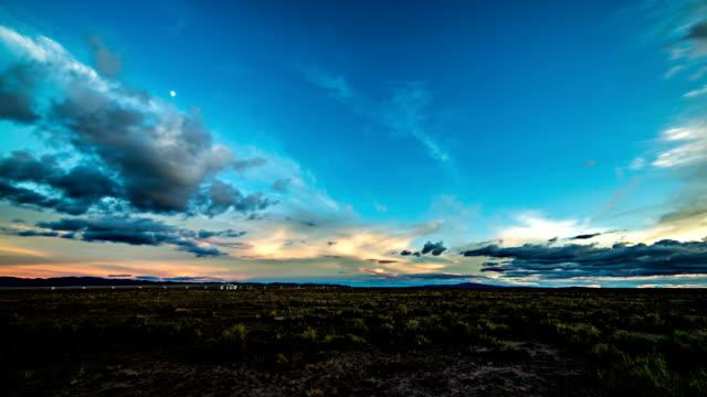 VLA Tag zur Nacht, timelapse – Video