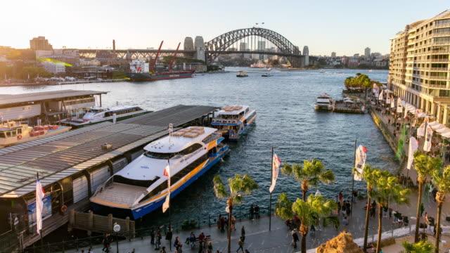 Day-to-Night Time-Lapse of Circular Quay, Sydney, Australia