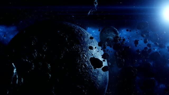 martwe ziemi-wideo - układ słoneczny filmów i materiałów b-roll
