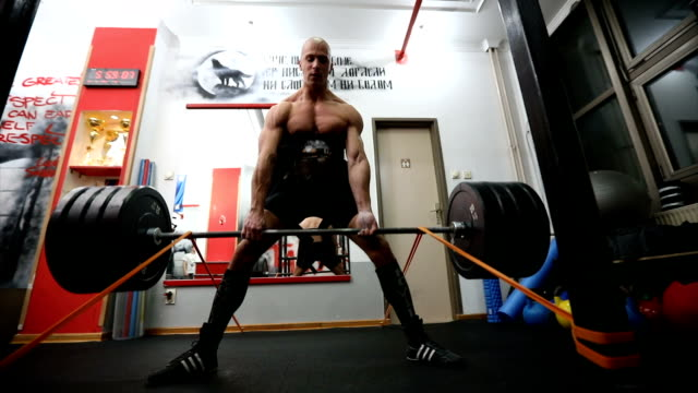 Dead lift exercise video