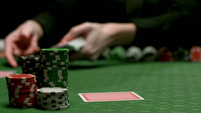 HD: Dealing Poker Cards video
