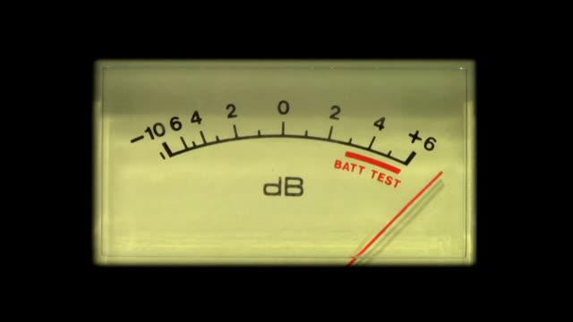 vidéos et rushes de hd : carrés/de décibels est élevé, composez le - image teintée