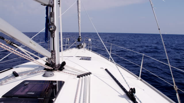 WS Deck Of A Sailboat video