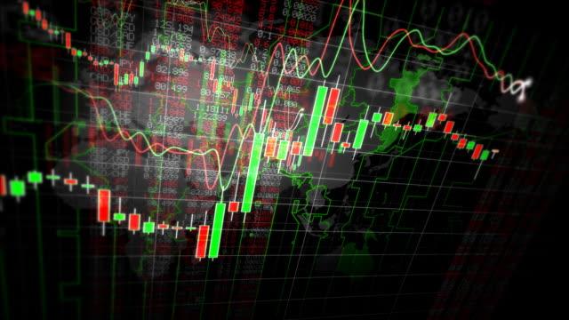 vídeos de stock e filmes b-roll de gráficos financeiros decrescente ansa - circular economy