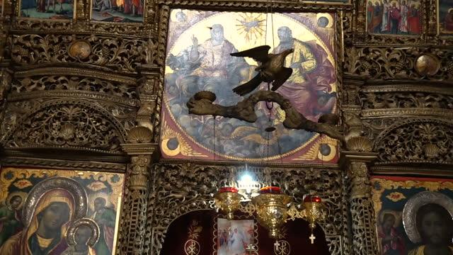 Decorated Interior of Church
