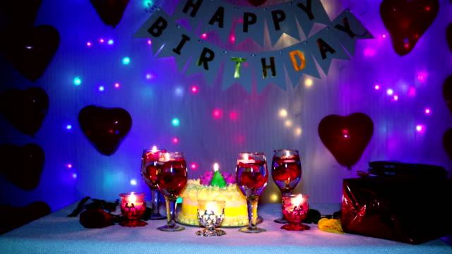 Decoration for birthday celebration