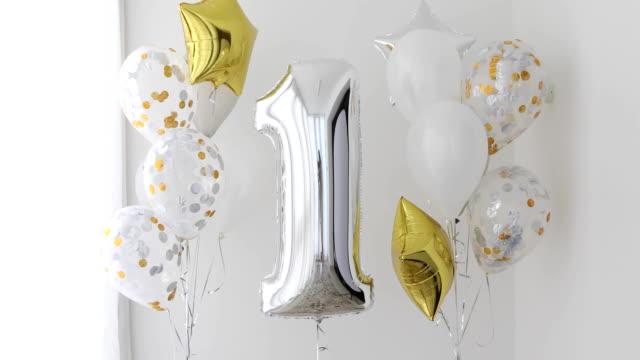 Dekoration für den ersten Geburtstag – Video