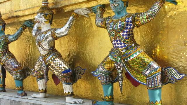 Decoration of stupa video