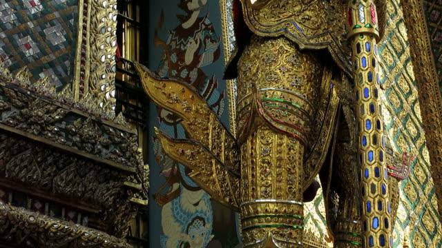 Decoration of Wat Phra Kaew video