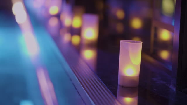 Decorative candles video