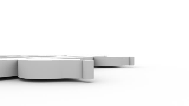 Decorative design element rotating video