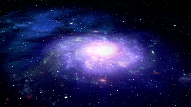 Deep Space Galaxy and Stars video