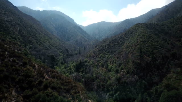 Deep Valley in California Mountains video