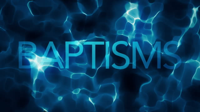 deep water baptisms title water abstract loop - christening stock videos and b-roll footage