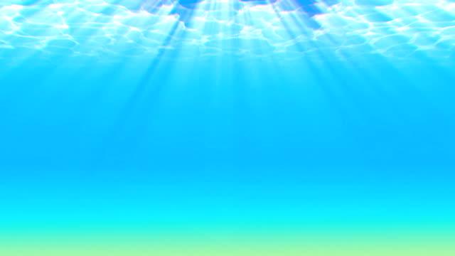Deepwater looping background