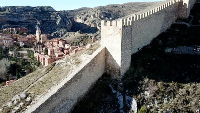 Defensive Northern wall of Albarracin