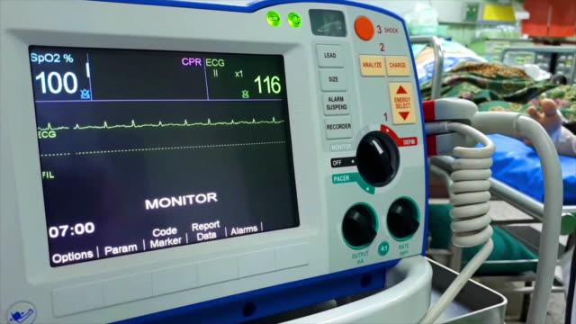 Defibrillation is a treatment. Defibrillation is a treatment. defibrillator stock videos & royalty-free footage