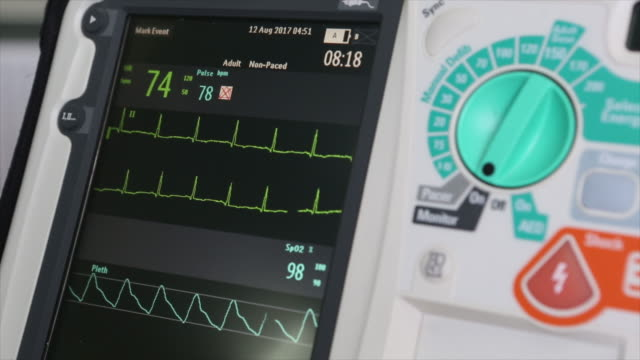 Defibrillation is a treatment. video