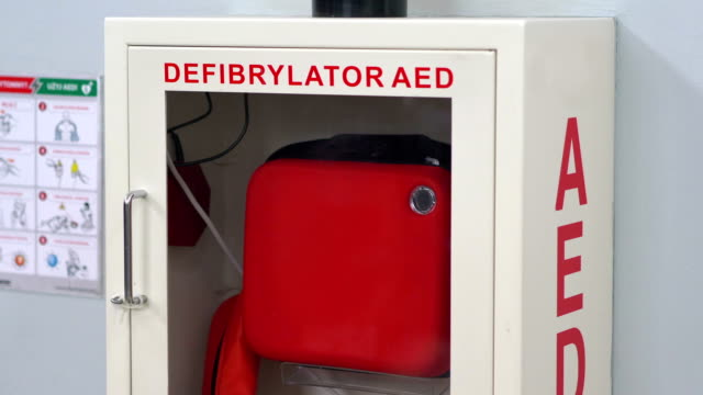 Defibrillator in 4k slow motion 60fps Professional video of defibrillator in 4k slow motion 60fps defibrillator stock videos & royalty-free footage