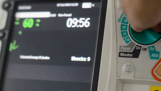Defibrillator Emergency Medical Technical Equipment. defibrillator stock videos & royalty-free footage