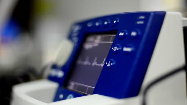 Defibrillator Defibrillator that  High-risk medical devices. it  Running ECG On Display defibrillator stock videos & royalty-free footage