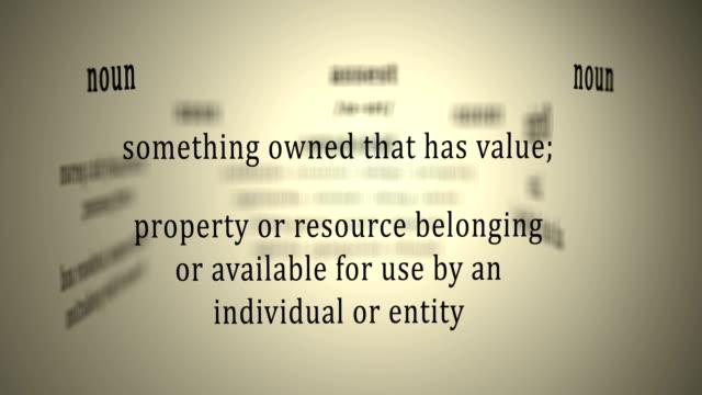 Definition: Asset video