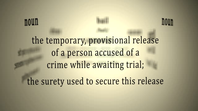 Definition: Bail video