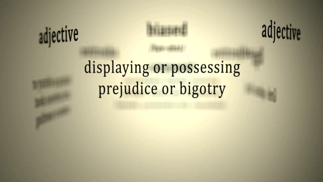 Definition: Biased video