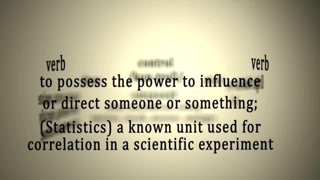 Definition: Control