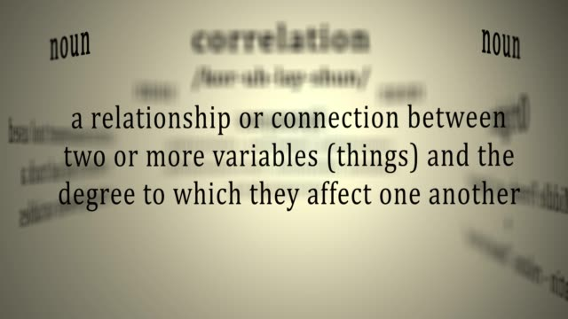Definition: Correlation