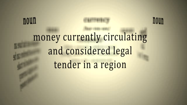 Definition: Currency video