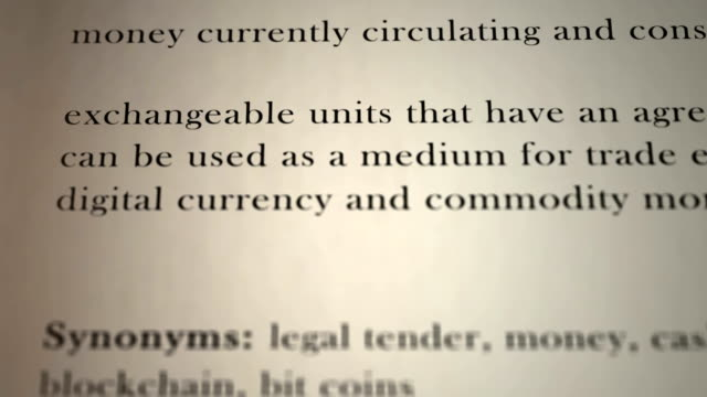 Definition Currency video