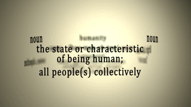 Definition: Humanity
