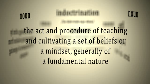 Definition: Indoctrination video