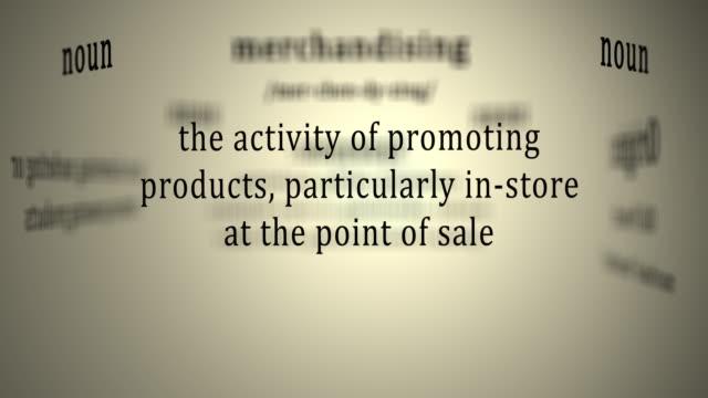 Definition: Merchandising