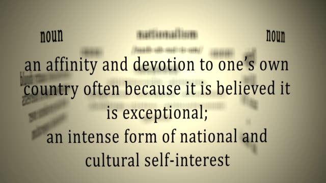 four definitions of nationalism Patriotism or national pride is the ideology of love and devotion to a homeland, and a sense of alliance with other citizens who share the same valuesthis attachment can be a combination of many different features relating to one's own homeland, including ethnic, cultural, political or historical aspects.