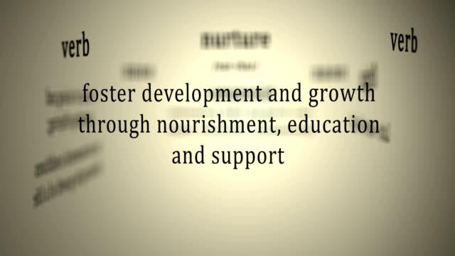 definition for nurture