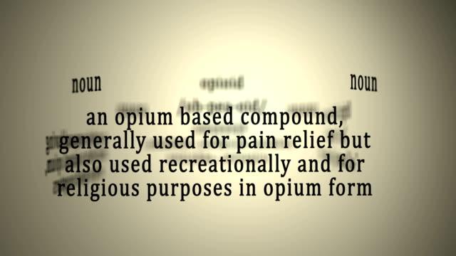 Definition: Opioid video
