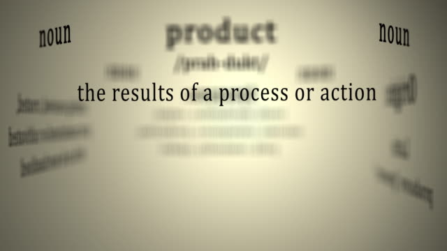 Definition: Product