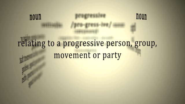 definition: progressive - politica e governo video stock e b–roll