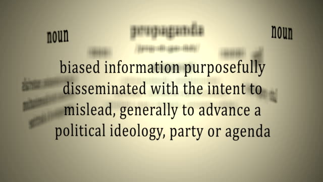 Definition: Propaganda video