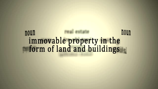 Definition: Real Estate video
