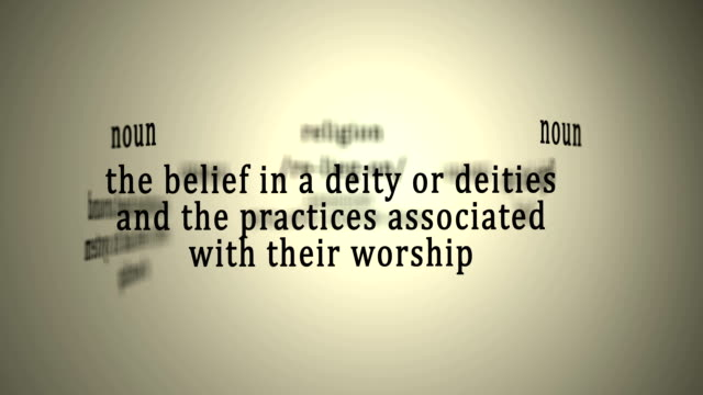 Definition: Religion video