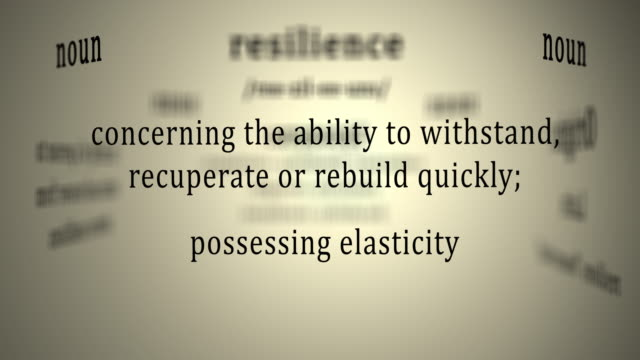 Definition: Resilience