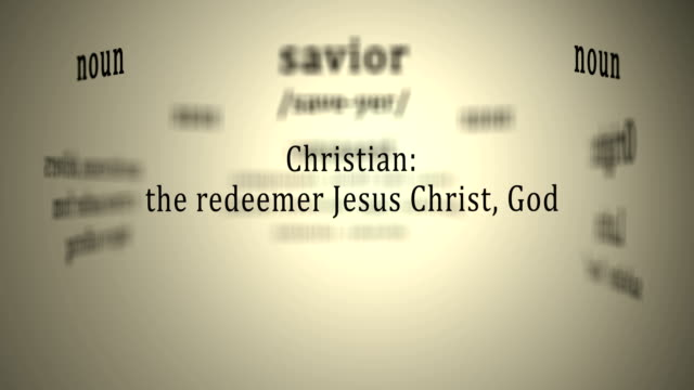 Definition: Savior