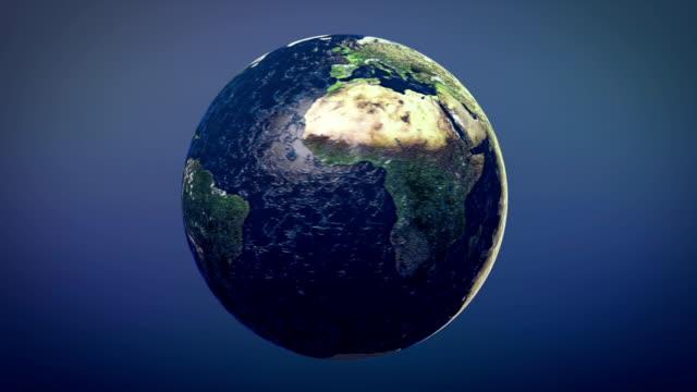 Deflating Earth video