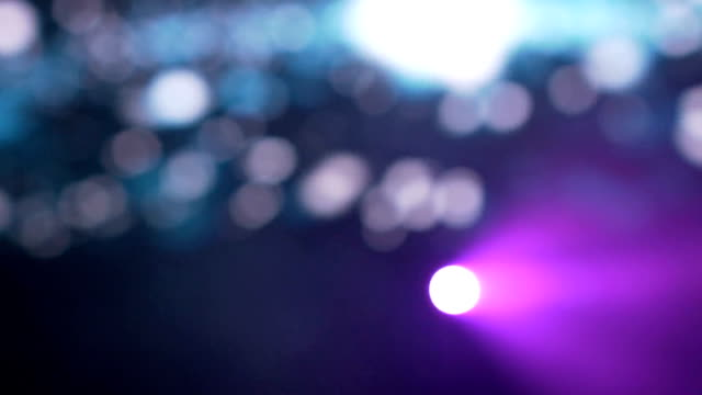 Defocus Party Lights in night club - Abstract Background